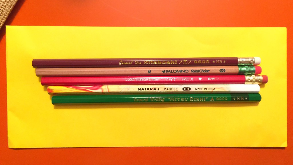 pencils from CW Pencil photo by Carl Mikoy